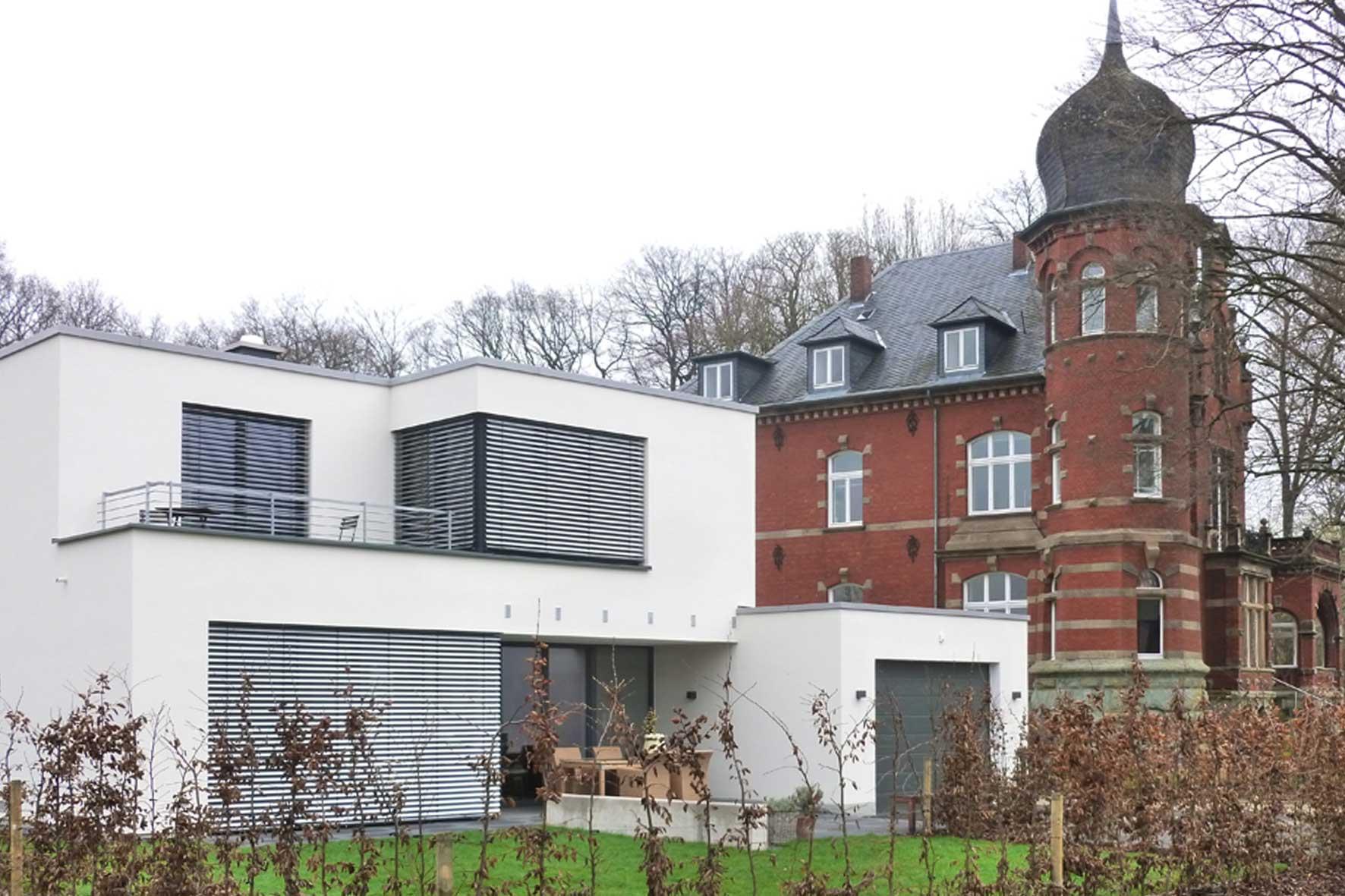 Neubau nähe Haus Buchwald