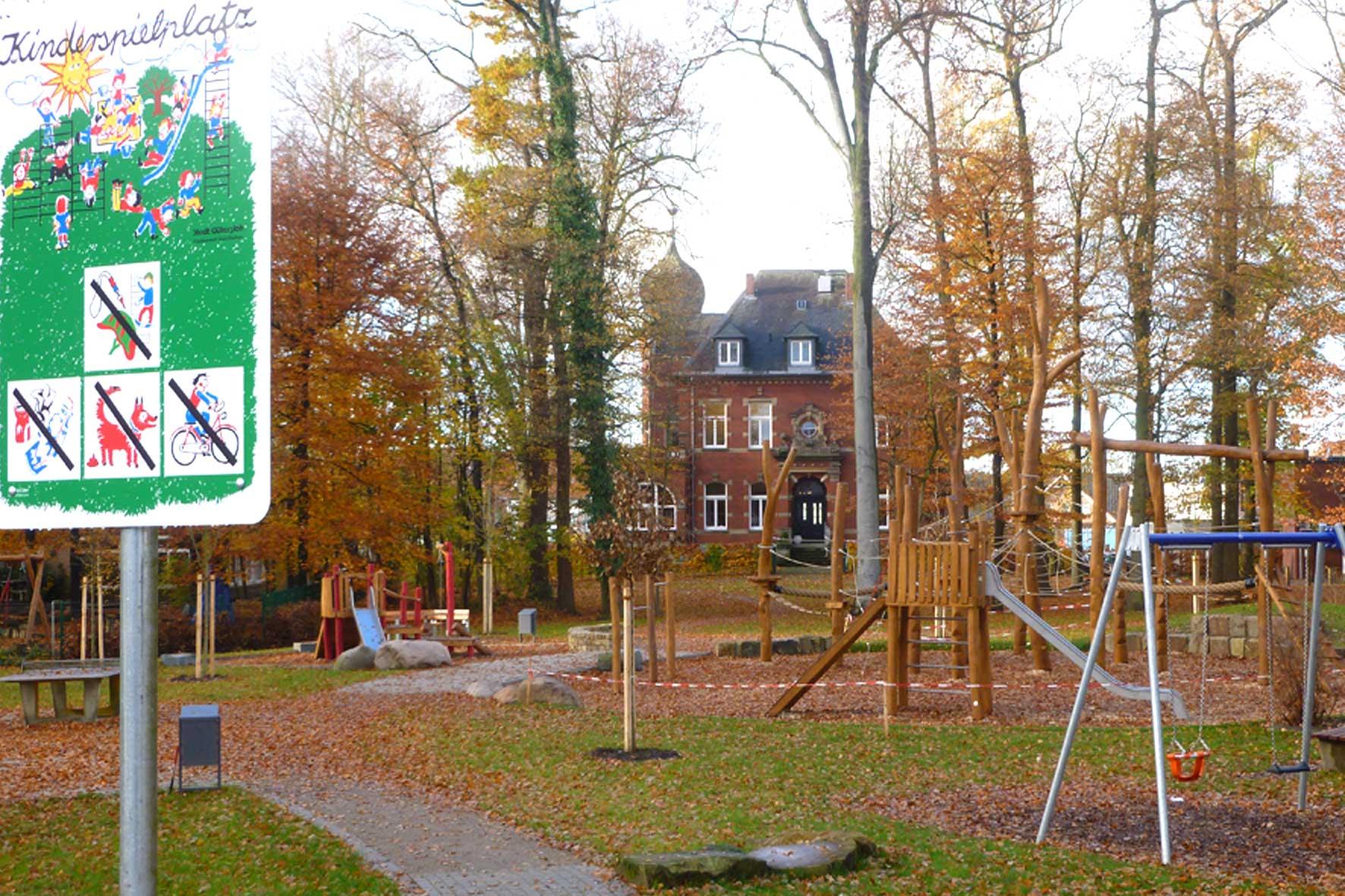 Spielplatz nähe Haus Buchwald