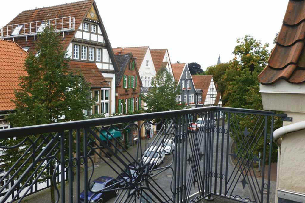 Balkon Hotel Wesemann