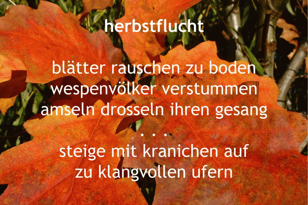 Herbstflucht