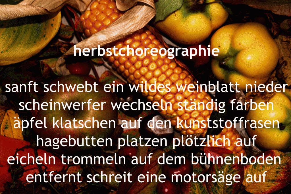 Herbstchoreographie