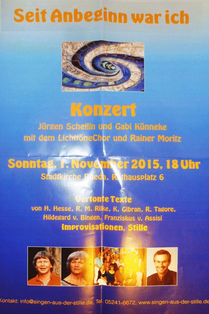 Konzert in Rheda