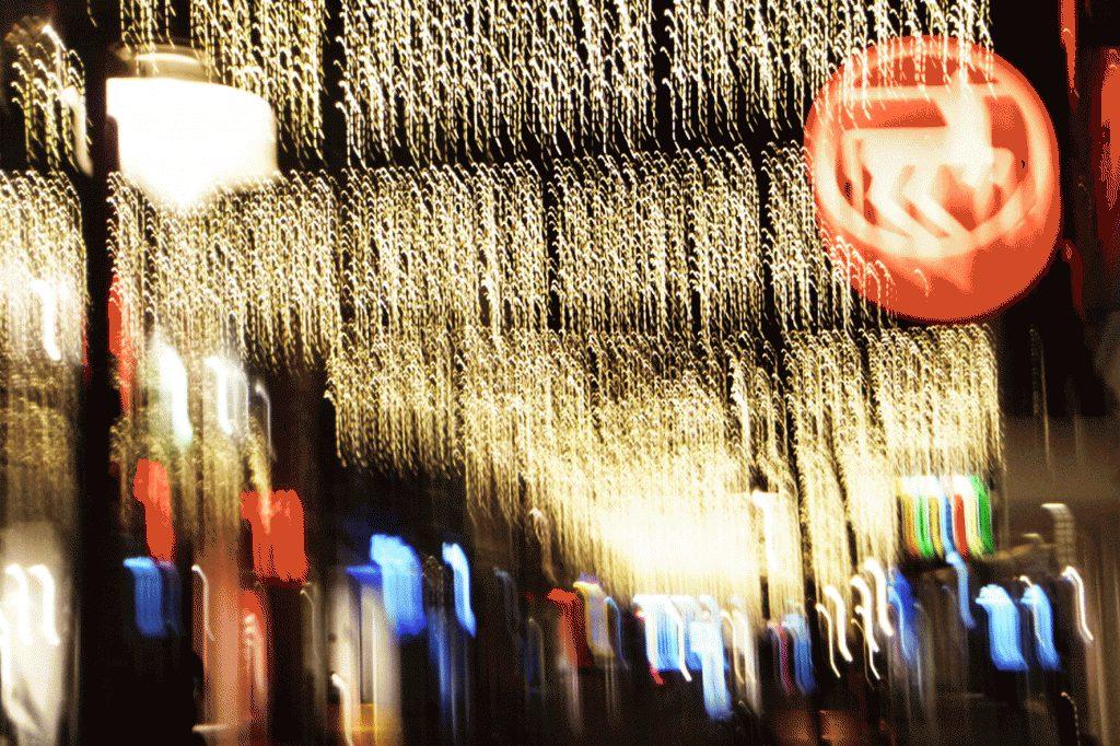 Weihnachtsbeleuchtung Berliner Straße