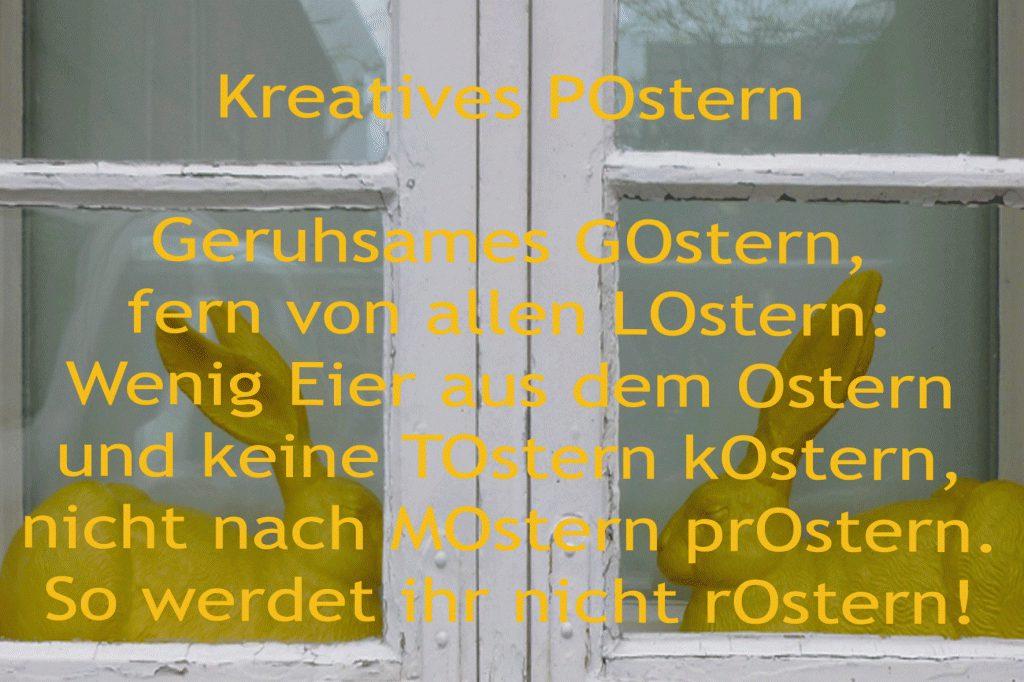 Kreatives POstern