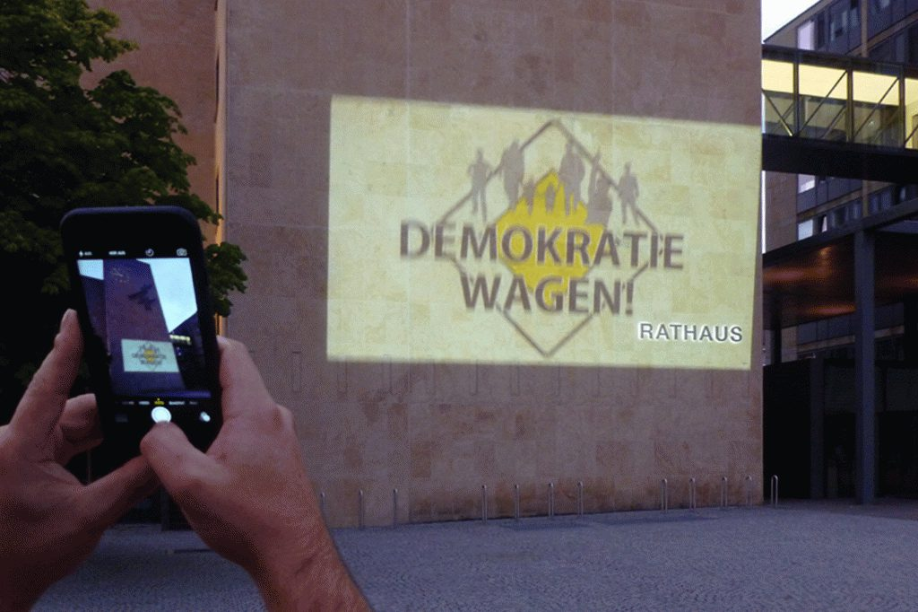 Demokratie wagen
