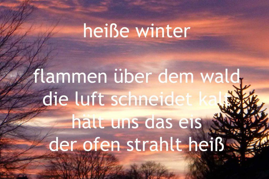 heisse winter