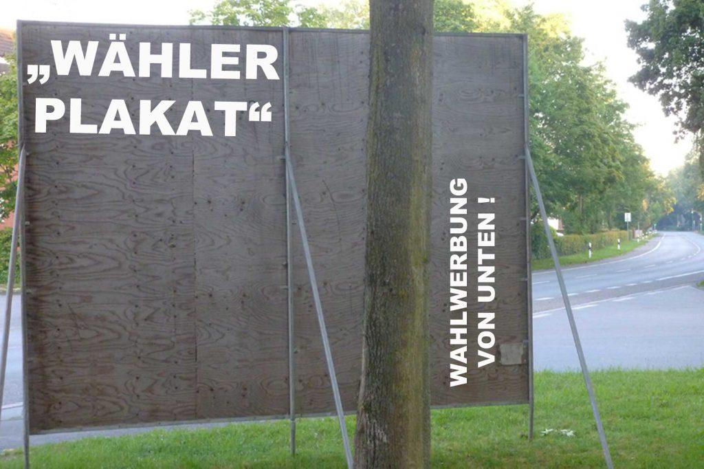 waehlerplakate
