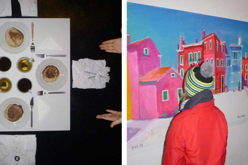 studenten kunstakademie lettland