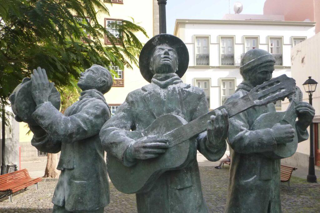 musikerstatuen